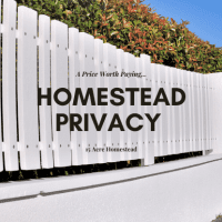 Homestead Privacy Is A Price Worth Paying