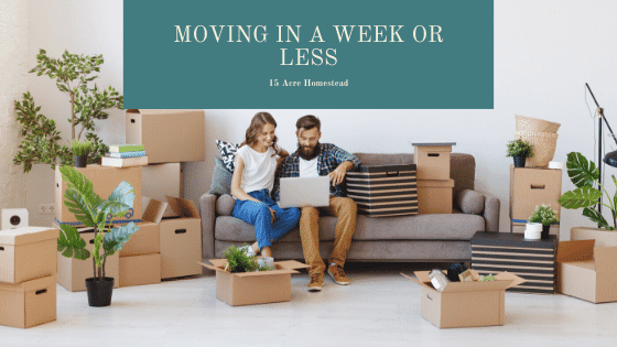 Moving in a Week or Less Featured Image