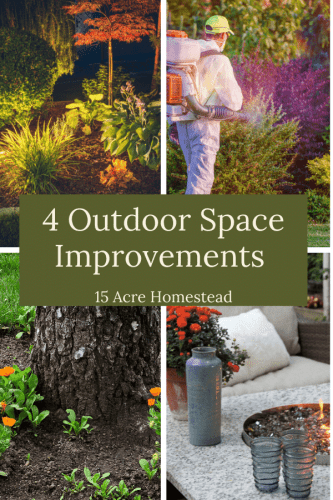 Make these simple outdoor space improvements and start enjoying your time outdoors this season!