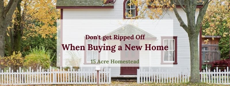 avoid getting ripped off when you buy a home