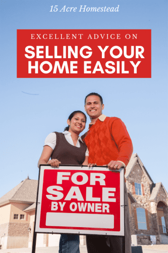 Follow these simple tips and suggestions to make sure you are selling your home easily.