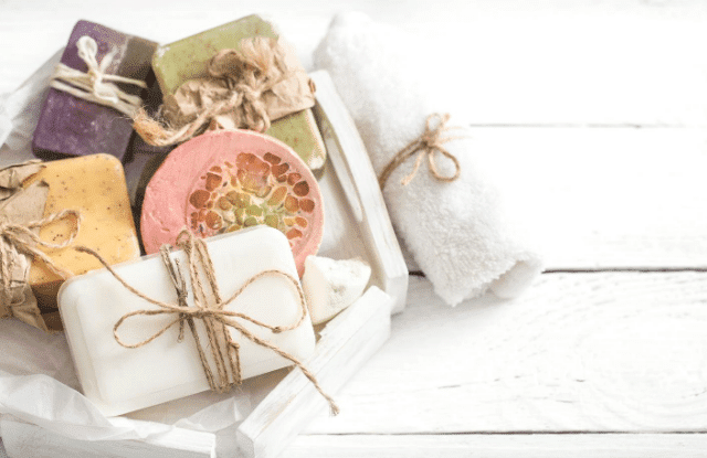 handmade soaps for guests