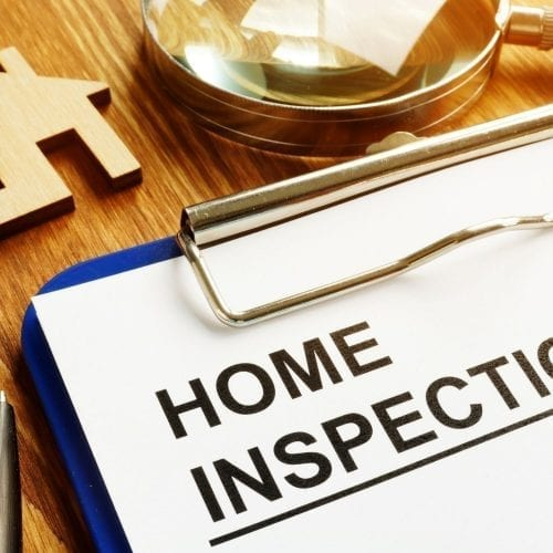 get a home inspection when you buy a home