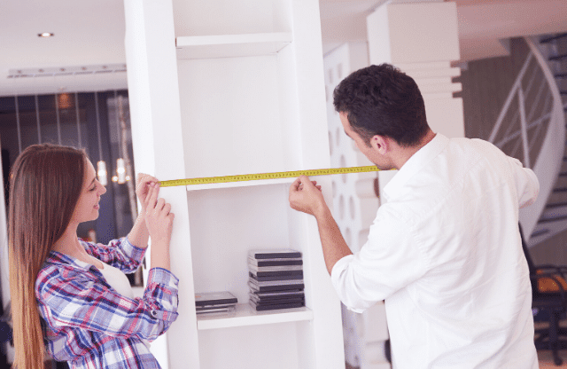 Making renovations to inside the home