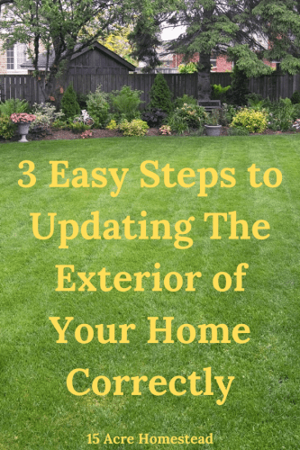 The exterior of your home should be just as important as the interior. With that in mind, use these tips to make the exterior as great as you have the inside!