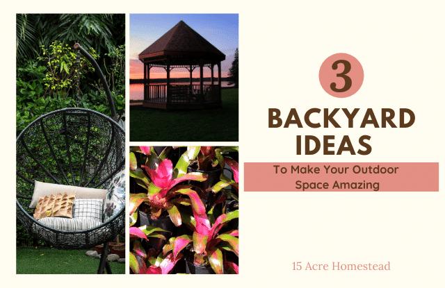 Backyard ideas featured image
