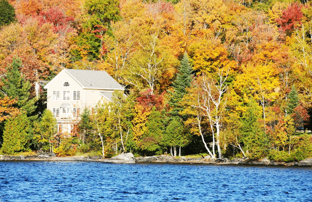 A House in the Fall.