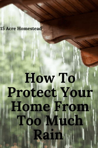 Learn how to protect your home before the heavy rains do their damage this season.