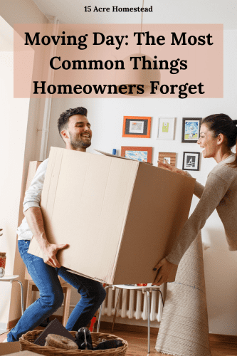 Use these tips to make sure you are not leaving the important things you need behind on moving day.
