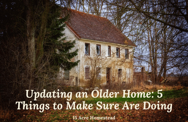 updating an older home featured image