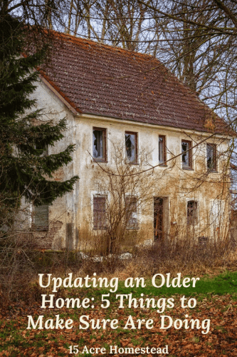 If you are thinking about updating an older home then you will want to take these important things into consideration.