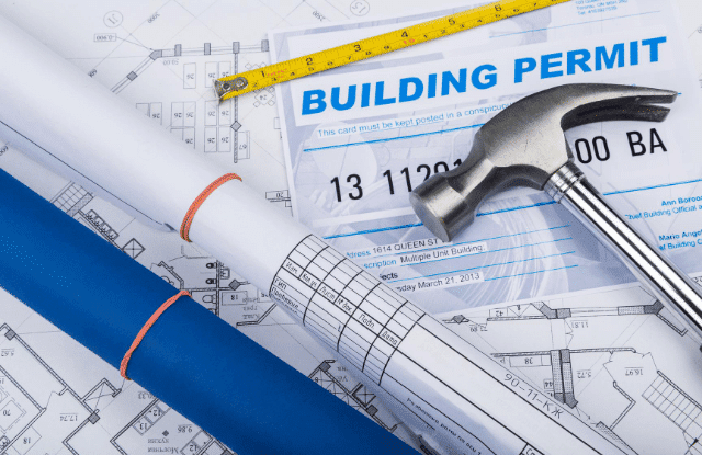 A buiolding permit is necessary when expanding your homestead