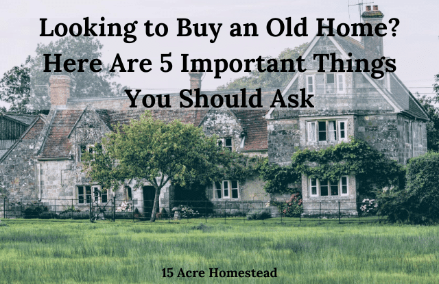 buy an old home featured image