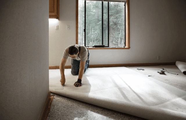 Having carpet installed is one of the ways of sprucing up your home.