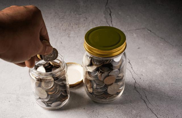 coin jars