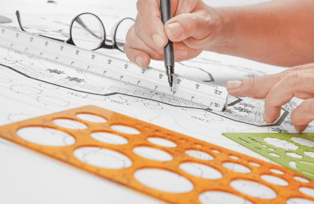 planning a garden on paper