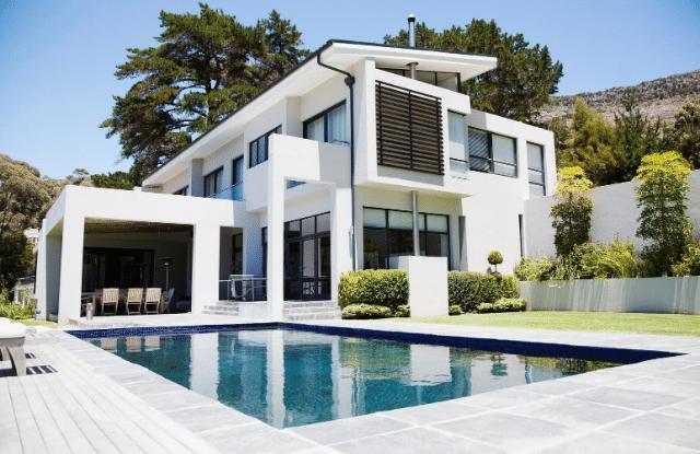 A modern but unique home design