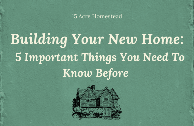 Featured Image for building your new home