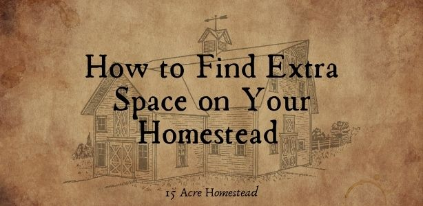 Extra Space on your Homestead Featured Image
