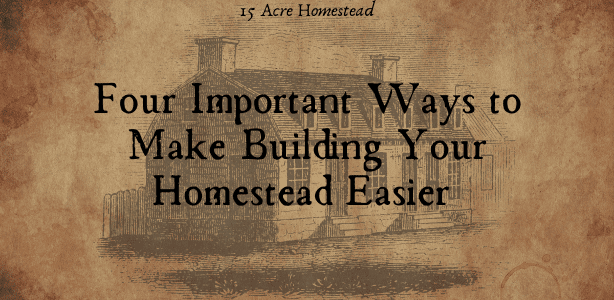 building your homestead featured image