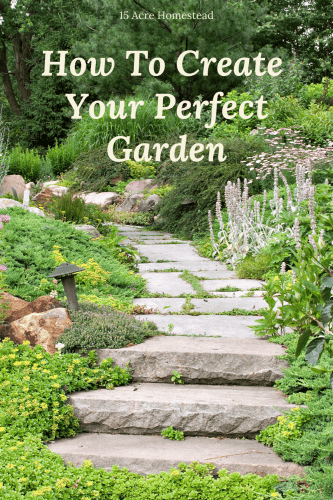 From fencing to installing a BBQ, or putting up a canopy for some shade, there are many options to design the perfect garden for you and your family on your homestead.
