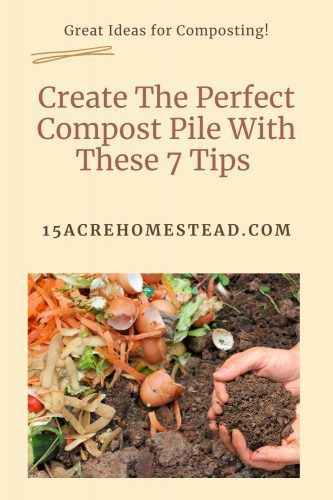 Want to create the perfect compost pile on your homestead? Here are 7 amazing tips to help you do so.