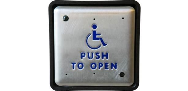 Handicapped door access