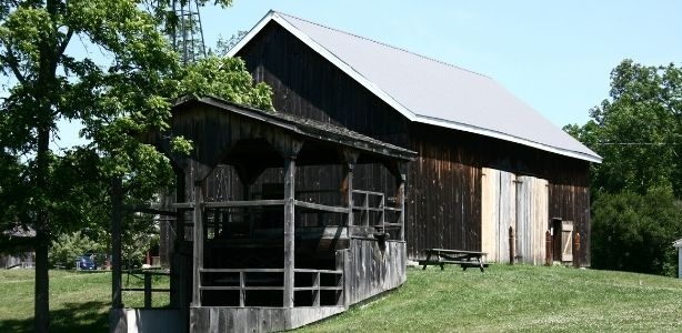 Old barns can be turned into extra space.