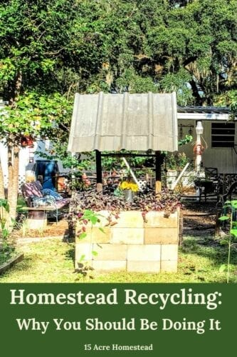 Find out the many reasons why it is so important to practice homestead recycling on your homestead and get tips to get started doing so too.
