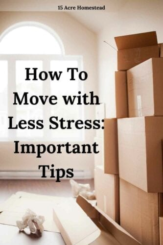 Are you moving soon? Here are some great tips to make a move with less stress and be more organized and efficient.,