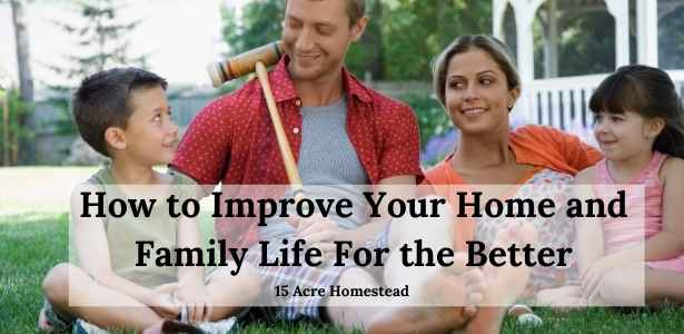 improve your home and family life featured image