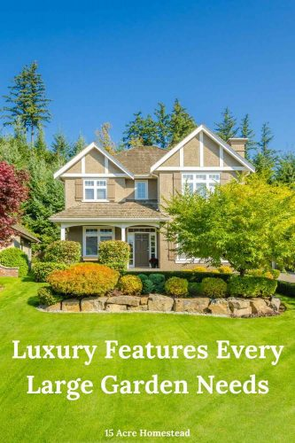 Check out these great tips and suggestions for adding some luxury features to your yard and garden.