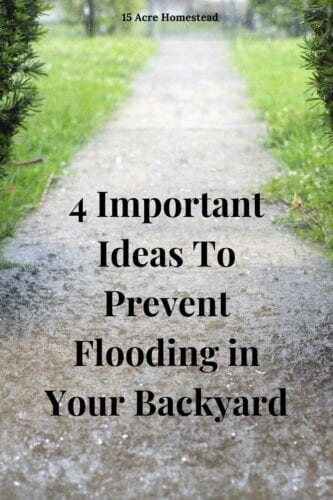 When winter arrives, it is time to think about flooding. Sadly, the seasons seem to be getting worse, which means the amount of rainfall is getting higher as the year's pass.