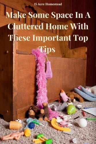 Use these simple but helpful tips to start having a less cluttered home today!