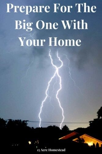 Are you prepared for the big one as it is called by meteorologists? Learn how here.