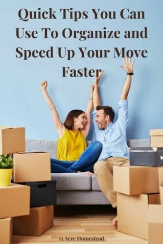 Use these simple tips to speed up your move!