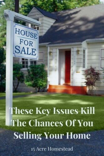 Learn the key issues that can cause your home not to sell before you list it. Doing so will allow for a much more successful sale in the future,