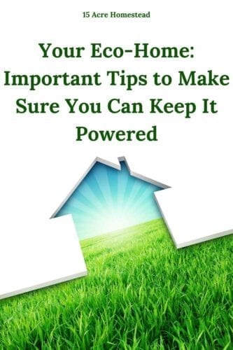 If you are using sustainable energy sources but are worried about being without power, then hopefully, these tips will help give you some ideas of how to combat this and make sure you stay powered up should anything arise in your eco-home.