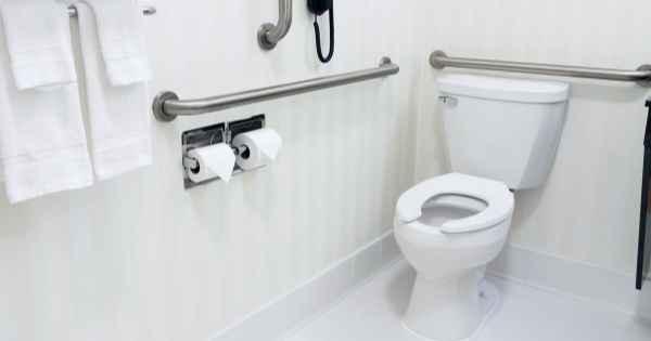 handicapped accessible bathroom