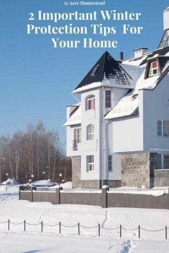 Use these winter protection tips to keep our home warm this winter and possibly reduce your power bill.