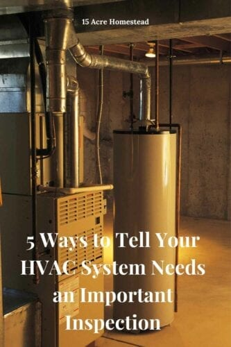 HVAC systems are an important part of the home and need to be inspected regularly.