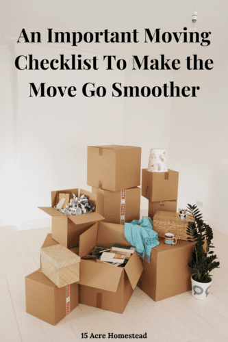 Are you ready to move? Don't do anything until you make an important moving checklist. You can learn all about it right here.