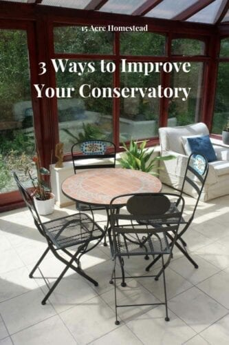 There are times when the uniqueness of your conservatory may begin to wear off, and you end up neglecting it. When this happens, take a look at your conservatory and determine what needs to be done so that you can bring out its beauty again.
