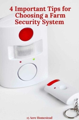 You really need a farm security system to keep your property safe and secure. Whatever type of farmer you are, whether you have all the essentials of homesteading or are just beginning you will want to ensure you make use of technological advances to be able to protect your home and your farm.