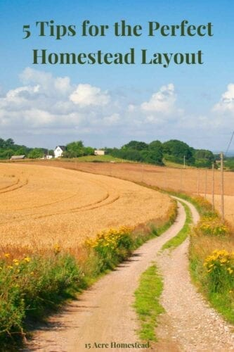 When you are considering homesteading, finding the perfect homestead layout can be a challenge. From uncertainty over the amount of land you need or where to even start from, venturing into homesteading can appear daunting.