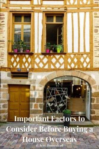 Are you planning on buying a house overseas permanently or long-term, and want to start house shopping? Whether you fall in love with a modern terrace house, or maybe a secluded hacienda, consider the key points listed here.