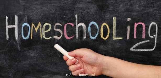 homeschooling sign