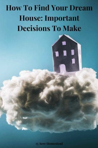 Read these important tips and suggestions before you decide to build or buy your dream house.