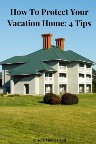 Just like protecting your main home, you will want the peace-of-mind that it is being looked after while you are not there. Here are some suggestions that will protect your vacation home investment.
