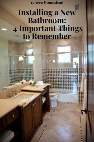 Adding a new bathroom to your home can be a tedious process. Here are some important things to remember.